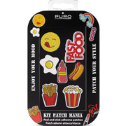 PMSFOODMIX1 PURO Patch Stricker Food [PURO Patch Mania用 ドレスアップシール Fast Food]