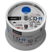TYCR80YP50SPMG [TYシリーズ CD-R データ用 48倍速 700MB ホワイトワイドプリンタブル スピンドルケース 50枚]