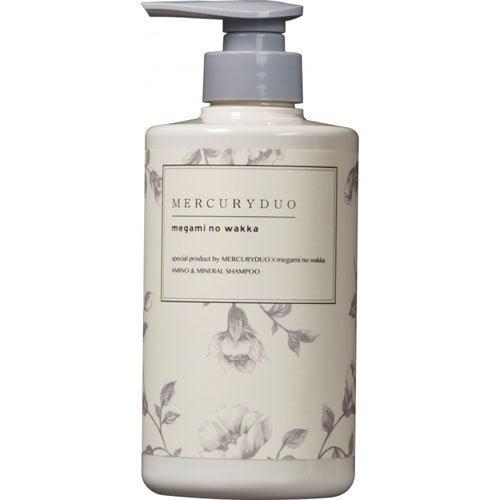 MERCURYDUO by megami no wakka AMINO & MINERAL Shampoo 480ml [ヘアシャンプー]