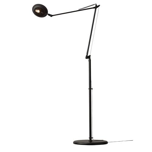 LEDスタンドライト Rebio (レビオ) 本体 (フロアーベースセット) ブラック