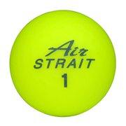 エアストレートマットカラーボール ASBA-7759 イエロー [ゴルフボール 6球入り]