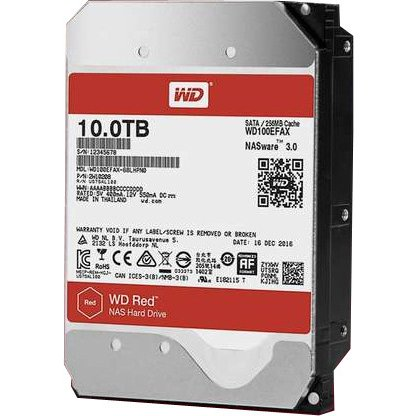 WD100EFAX [バルクドライブ WD RED]