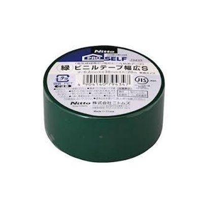 J3433 [ビニルテープ幅広S 38×20 緑]