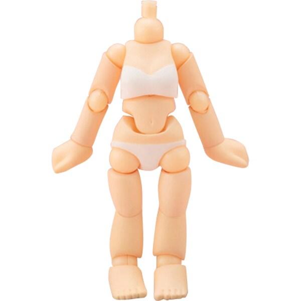 キューポッシュえくすとら 女の子ボディ(素体) [ノンスケール 全高約75mm フィギュア用パーツ]