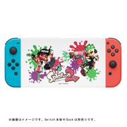 Nintendo Switch専用スタンド付きカバー スプラトゥーン2 ガール&ボーイ [任天堂公式ライセンス商品]