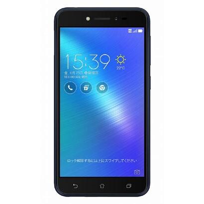ZB501KL-BK16 [Zenfone Live SIMフリースマートフォン 5インチHD 1280×720/Android 6.0.1/Qualcomm Snapdragon 400(Octa-core CPU)1.4GHz/RAM2G/ROM16GB/802.11bgn/BT4.2/LTE/ネイビーブラック]