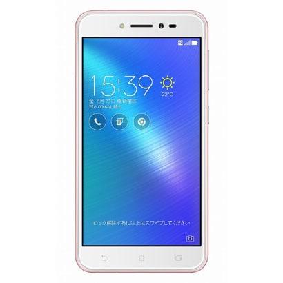 ZB501KL-PK16 [Zenfone Live SIMフリースマートフォン 5インチHD 1280×720/Android 6.0.1/Qualcomm Snapdragon 400(Octa-core CPU)1.4GHz/RAM2G/ROM16GB/802.11bgn/BT4.2/LTE/ローズピンク]