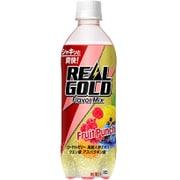リアルゴールド フレーバーミックス フルーツパンチ 490mL×24本 [ペットボトル]