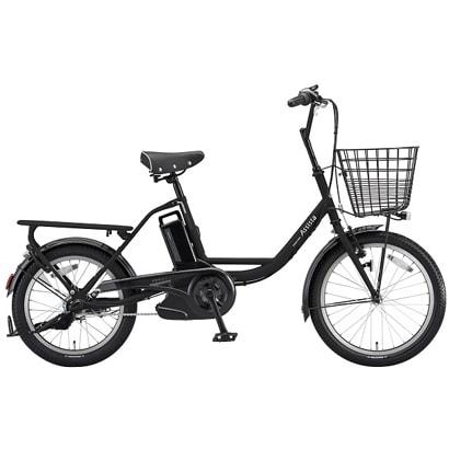 A0BD18 [電動アシスト自転車 アシスタベーシックミニ 3P82AA 前20/後18型 内装3段変速 6.6Ah T.Xクロツヤケシ 2018年モデル]