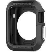 SGP11496 [Apple Watch Series 2/Series 1 (42mm) Rugged Armor Black]