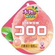UHA味覚糖 コロロ 白桃 40g
