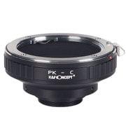 KF-PKC [マウントアダプター レンズ側/ペンタックスK ボディ側/Cマウント]