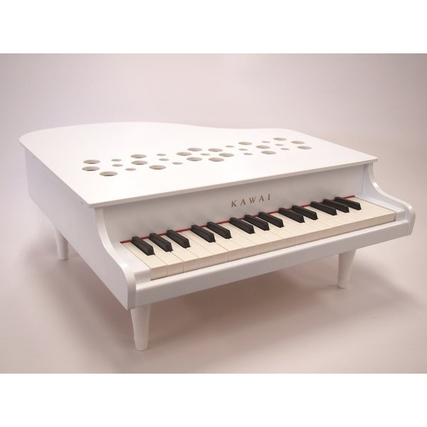 1162 ミニピアノ P-32 ホワイト [対象年齢 3歳~]