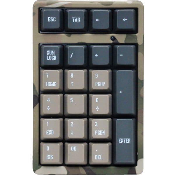 FTKP22MC/CR2 [USBテンキー Majestouch TenKeyPad2 Pro 青軸 Multicam 迷彩]