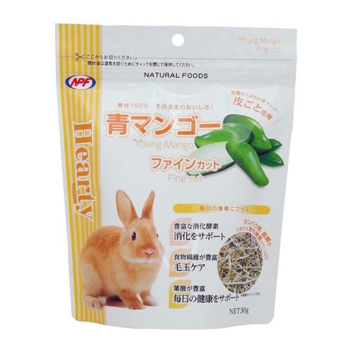 ハーティー 青マンゴー ファインカット 30g [小動物用フード・おやつ]