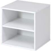 81904 [CB35SH(WH) キューブボックス 棚付 ホワイト]