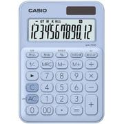 MW-C20C-LB-N [カラフル電卓 ミニジャストタイプ 12桁表示 ペールブルー]