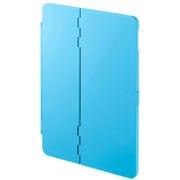 PDA-IPAD1004BL [iPad 9.7インチ ハードケース スタンドタイプ ブルー]