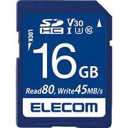 MF-FS016GU13V3R [SDHCカード UHS-I U3 80MB/s 16GB ビデオスピードクラス対応 データ復旧サービス付]