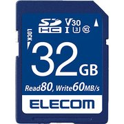 MF-FS032GU13V3R [SDHCカード UHS-I U3 80MB/s 32GB ビデオスピードクラス対応 データ復旧サービス付]