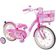 ミニーマウス Poppin' Ribbon 16 [子ども用自転車 対象年齢:2.5~7歳 ピンク]