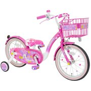 ミニーマウス Poppin' Ribbon 18 [子ども用自転車 対象年齢:3~8歳 ピンク]