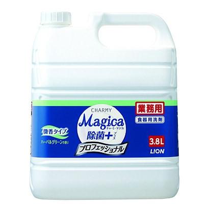 Magica 除菌プラス 微香タイプ ハーバルグリーン 業務用 3.8L