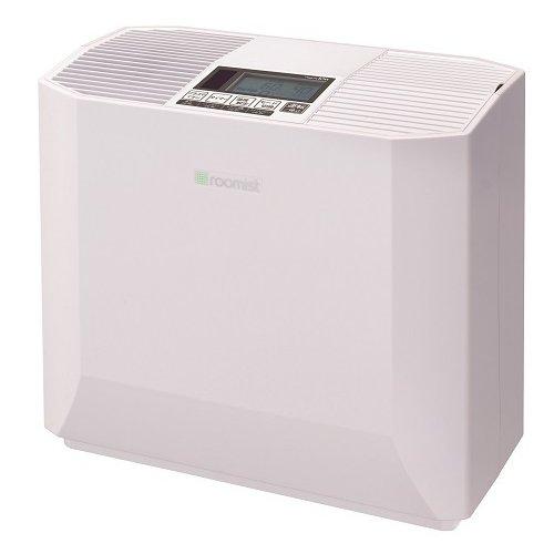 SHK50PR-W [roomist ハイブリッド式加湿器 和室8.5畳/洋室14畳まで クリアホワイト]
