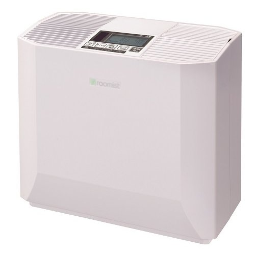 SHK70PR-W [roomist ハイブリッド式加湿器 和室12畳/洋室19畳まで クリアホワイト]