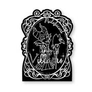 ディズニーヴィランズ ダイカットメモ 1 マレフィセント 眠れる森の美女 [約H148×W105×D10mm]