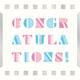 MCAA-CO001QR [インスタントムービーカード moovinカード FILMシリーズ Congratulations]