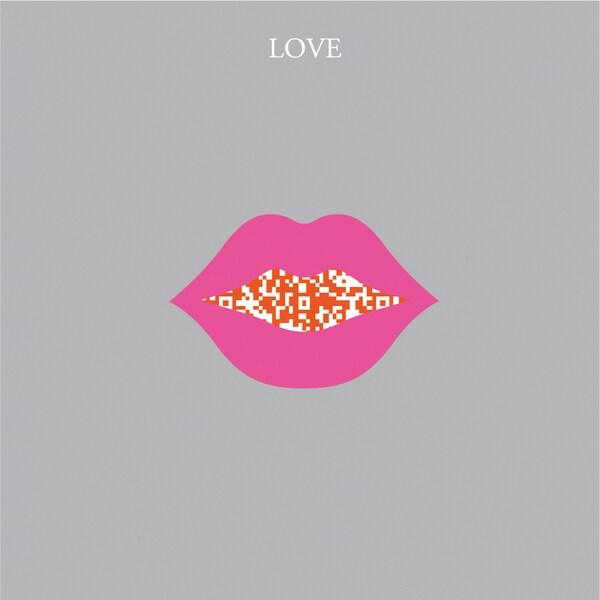 MCAA-LY003QR [インスタントムービーカード moovinカード CUTOUTシリーズ Love You]