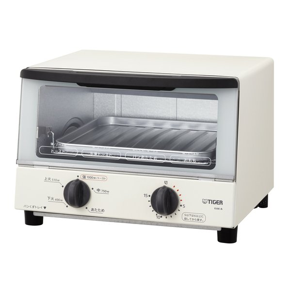 KAK-A100 W [オーブントースター やきたて ホワイト]