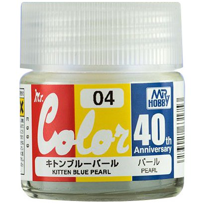 AVC04 [Mr カラー 40th Anniversary シリーズ キトンブルーパール]