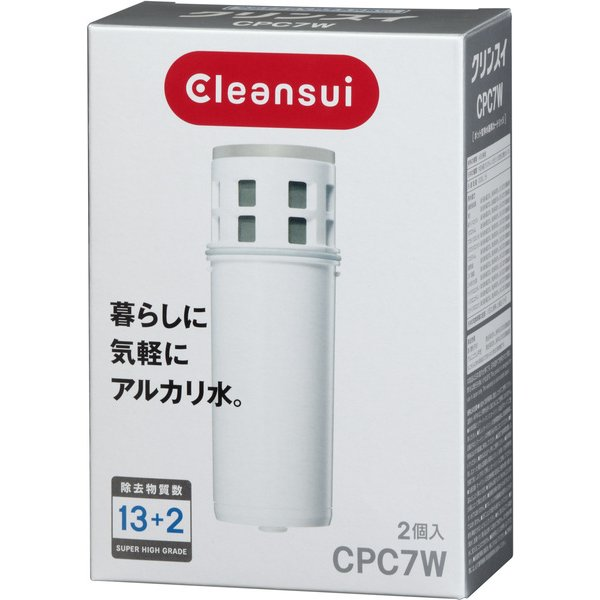 CPC7W-NW [Cleansui(クリンスイ) ポット型カートリッジ]