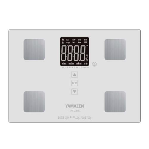 HCF-40(W) [体組成計 ヘルスメーター ホワイト]