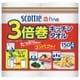 日本製紙 スコッティファイン 3倍巻き キッチンタオル 4ロール [キッチンペーパー]