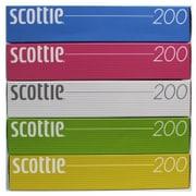 スコッティ 200組 5箱パック カラー