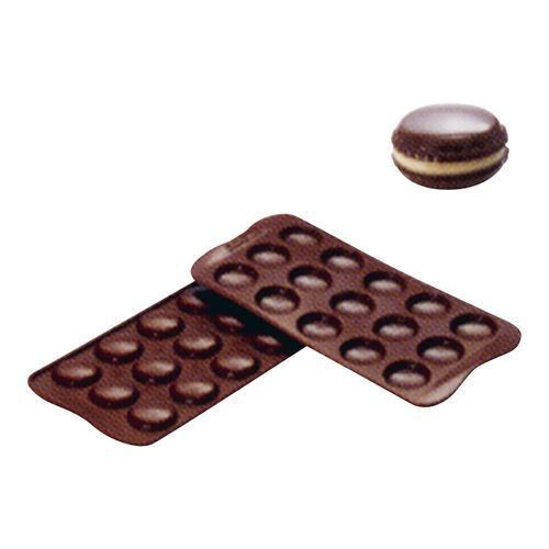 シリコマート チョコレートモルド マカロン SCG21