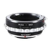 KF-DAM43 [マウントアダプター レンズ側:ペンタックスK(DAレンズ対応) ボディ側:マイクロフォーサーズ 絞りリング付き]