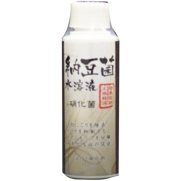 納豆菌水溶液 100ml [水質テスト・管理用品]