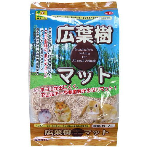 広葉樹マット 7L [小動物用底砂・床材]
