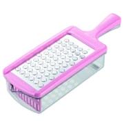 ステンレス製おろし器 おろしぼり ピンク [調理用具]