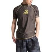 NAMITATSUラッシュガード紳士半袖X414-761 Lサイズ 30 [ラッシュガード メンズ]