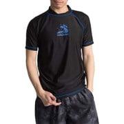 NAMITATSUラッシュガード紳士半袖X414-761 Lサイズ 40 [ラッシュガード メンズ]