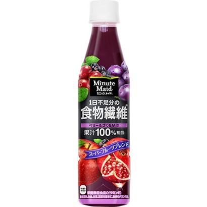 ミニッツメイド 1日不足分の食物繊維 350ml×24本 [果実果汁飲料]