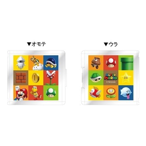 Nintendo Switch専用 カードポケット24 スーパーマリオ