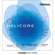 H550 4/4M HELICORE 4TH SET MED [チェロ弦 Helicore Fourths-Tuning Set]