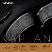 K410 LM KAPLAN FORZA SET L MED [ヴィオラ弦 Kaplan Forza Set Long Scale]