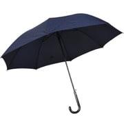 紳士長傘 無地 紺 65cm